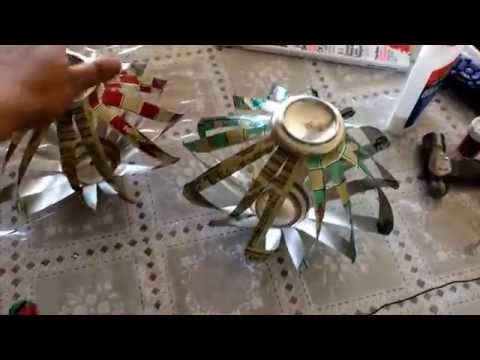 DIY: How to make a spinning wind chimes