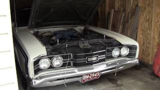 Cold Start The 1969 Mercury Cyclone.
