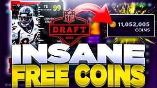 EARN 200K COINS FREE! | EASY DRAFT PROMO COIN METHOD! | EVERYONE MAKE FREE COINS MADDEN 21!