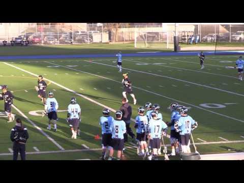 CLARKSTON LACROSSE JV: Game vs St Michaels College 4-22-17