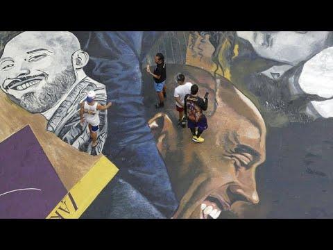 شاهد: لوحة جدارية في العاصمة الفلبينية لنجم كرة السلة كوبي براينت في الذكرى السنوية الأولى لوفاته…  - نشر قبل 24 ساعة