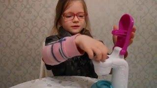Обзор игрового набора Play-Doh Мороженое.