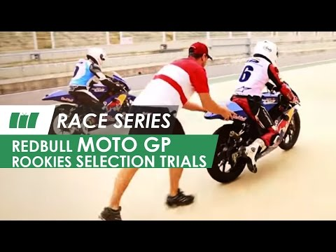 Red Bull MotoGP Rookies 2014 Selection trials | RACE SERIES