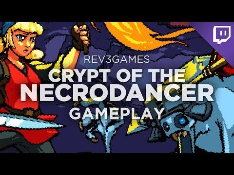 CRYPT OF THE NECRODANCER Hardcore Run! Rhythm-Based Spelunky-Like