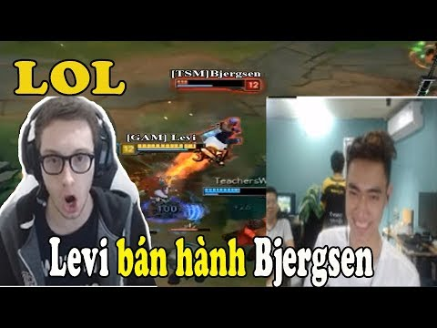 GAM Levi | Bất ngờ đối đầu Levi củ hành TSM Bjergsen với Tristana siêu lực ngay tại rank HÀN