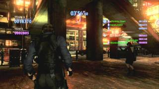 Resident Evil 6: Survivors mode Matches 74, 75, 76