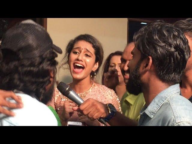 Priya Prakash Varrier Becomes Singer In Her New Movie