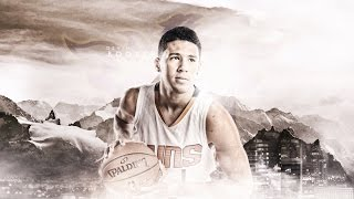 devin booker rookie year ll white iverson ll