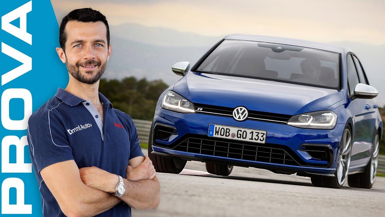 Volkswagen Golf R 2017 | La prova dei 310 CV integrali - YouTube
