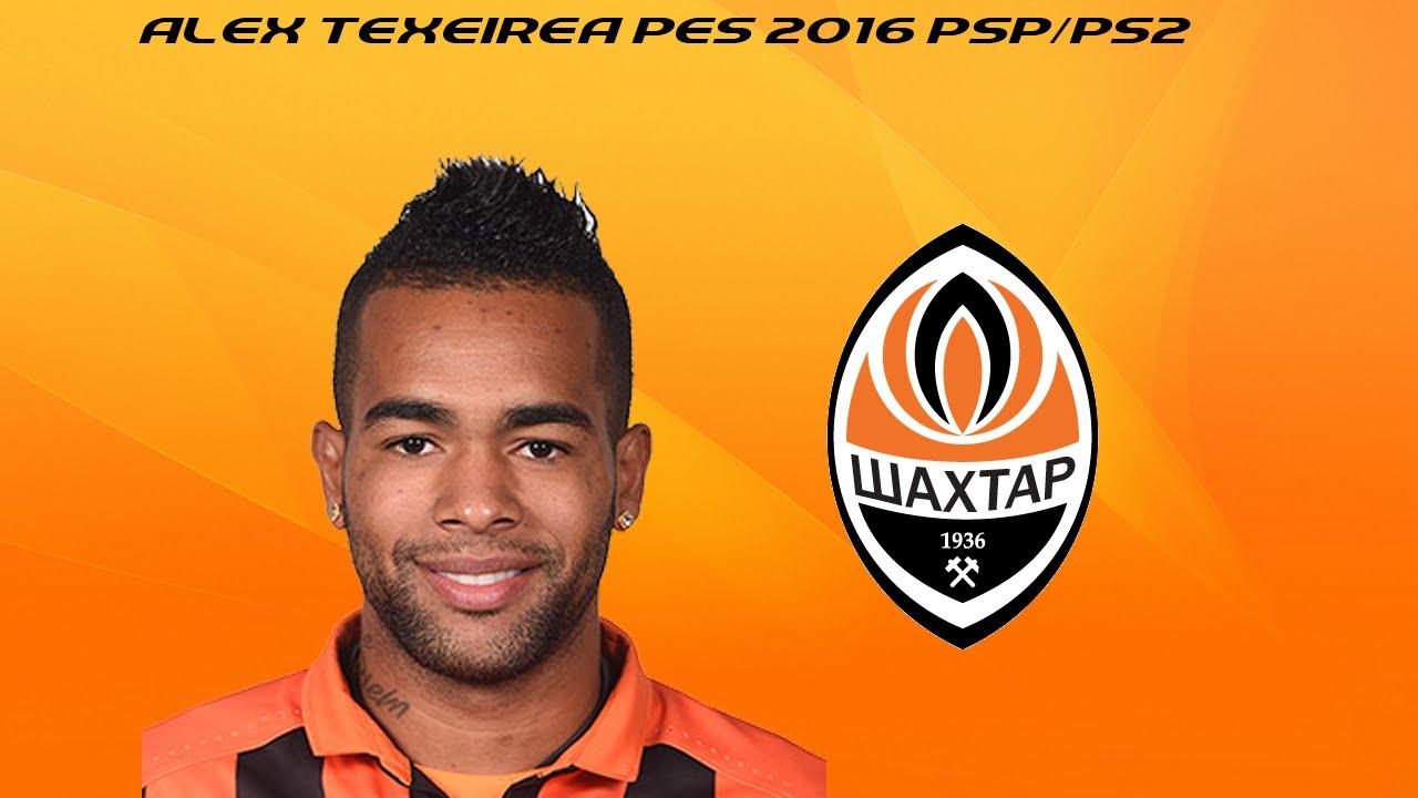 Alex Teixeira PES 2016 psp ps2