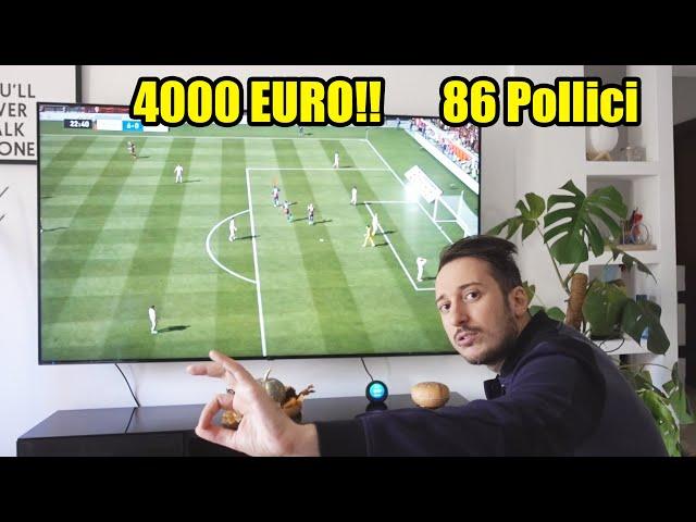 LA MIA NUOVA ENORME TV DA GAMING 4K PER LA NEXT GEN!