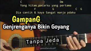 Kunci Gitar HITAM PUTIH (Tratak tak tak) - Cozy Republic | Viral Tiktok
