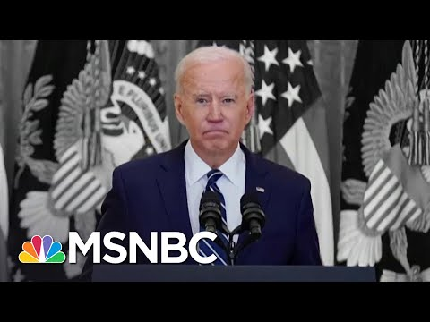 Biden Pressed Border And Foreign Policy At First News Conference | The 11th Hour | MSNBC