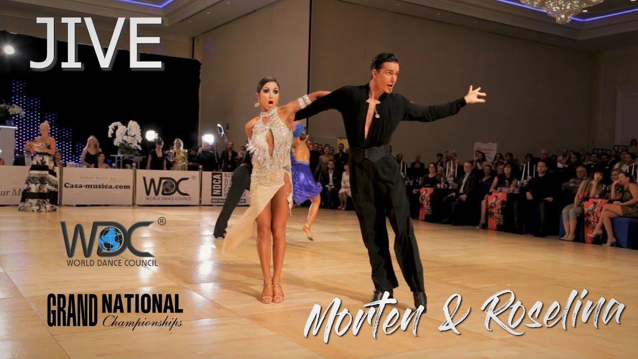 Morten Löwe - Roselina Doneva (DEN) I Jive I WDC World Pro Latin 2019