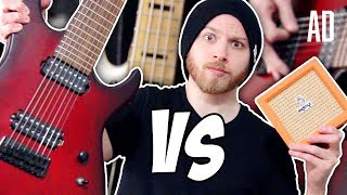 Biggest Guitar vs Smallest Amp | Pete Cottrell