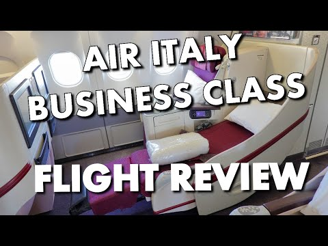 AIR ITALY FLIGHT REVIEW - LAX To Milan In Business Class