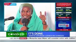 IT'S DONE : Senate Speaker Kenneth Lusaka approves Jubilee party leadership changes