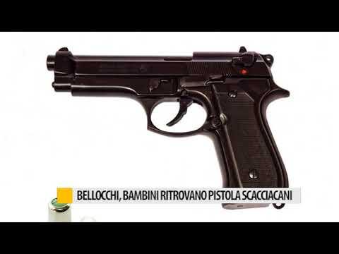 Bellocchi, Bambini Ritrovano Pistola Scacciacani