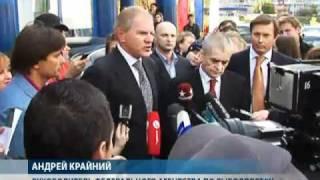 Онищенко проверил качество мороженой рыбы в магазине(, 2010-10-01T09:28:15.000Z)