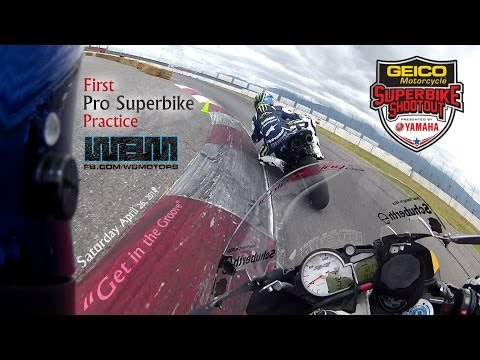 6.1 Superbike Shootout: First Pro Practice - Fontana (Auto Club Speedway)