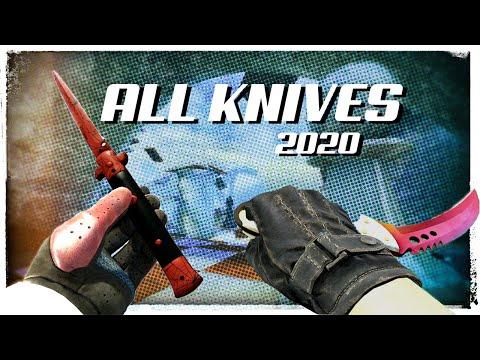 ALL CSGO KNIFES