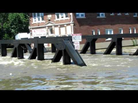 HURRICANE IRENE AFTERMATH  paterson nj flooding