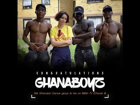 GHANA BOYZ LIVE  DOCUMENTARY ON CHANNEL 4 TV (SOUND & VISION )