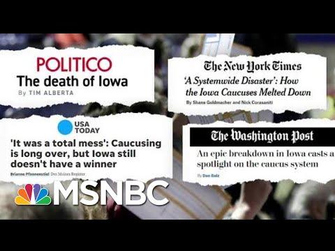 What's Next For The Iowa Caucus? | Craig Melvin | MSNBC