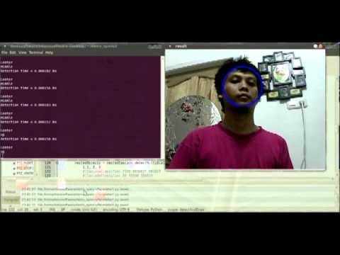 Face Tracking with OpenCV, IP Camera, and Linux