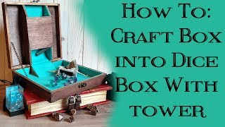 Complete How-To: Make a Travel Dice Box with Built-In Tower