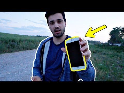 AM GĂSIT UN iPHONE 8 Plus PE JOS !