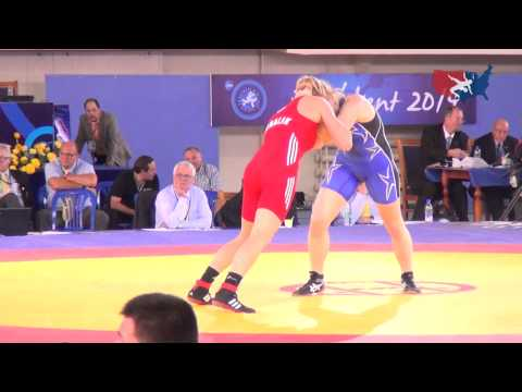63 KG SF - Elena Pirozhkova (USA) vs Monika Michalik (POL)