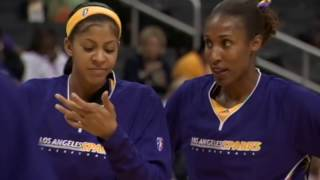 Lisa Leslie and Candace Parker Reflect On Their In Game Dunks