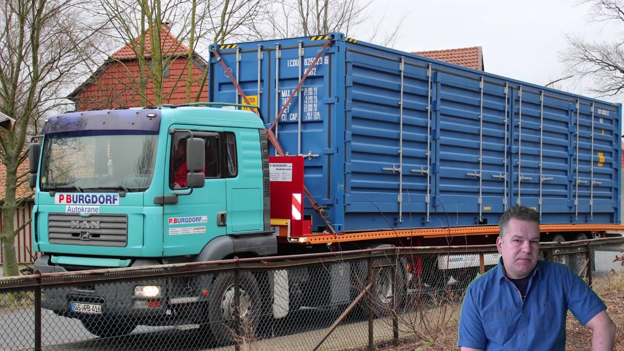 Tremendous Container Umbau Collection Of 40 Fuss Überseecontainer Zum - Projektstart -