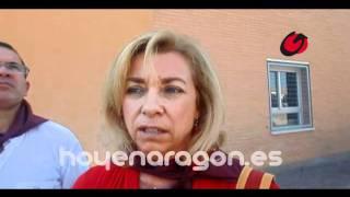 La consejera de Educacion de Aragon visita el colegio Alfonso I de Tauste hoyenaragon
