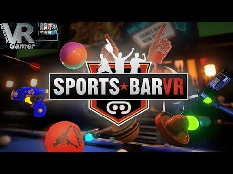 Sports Bar VR v2.0 VR PS4 VR Livestream Deutsch mit Delorean787 und Echsenmann95