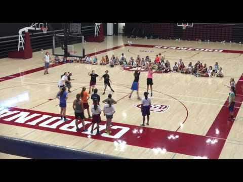 Stanford Basketball camp 2015