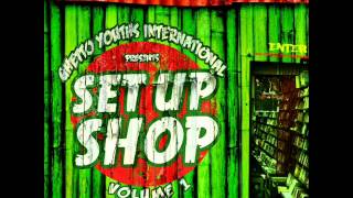 "Go Hard --Wayne Marshall- Damian "" Jr Gong "" Marley- Aidonia....( SET UP SHOP VOLUME 1- Track 8)"