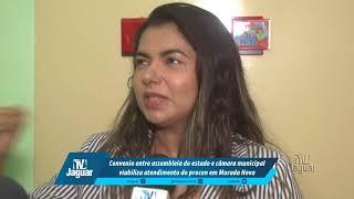 Convênio entre Assembleia do Estado e Câmara, viabiliza atendimento do Procon em M. Nova - Jaqueline Saraiva