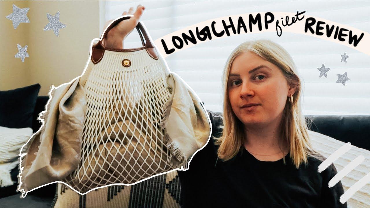 LONGCHAMP LE PLIAGE FILET REVIEW | Kelsey Boyanzhu