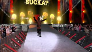 WWE 2K16 Booker T Entrance (Xbox One/PS4)