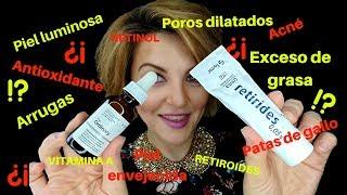 ¿Retinoides, Retinol, Acido retinoico? Tratamiento y cuidado facial. Ordinary/Retirides