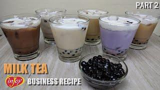 6 Milk Tea Recipes   Business Recipes Part 2   Negosyo Recipes