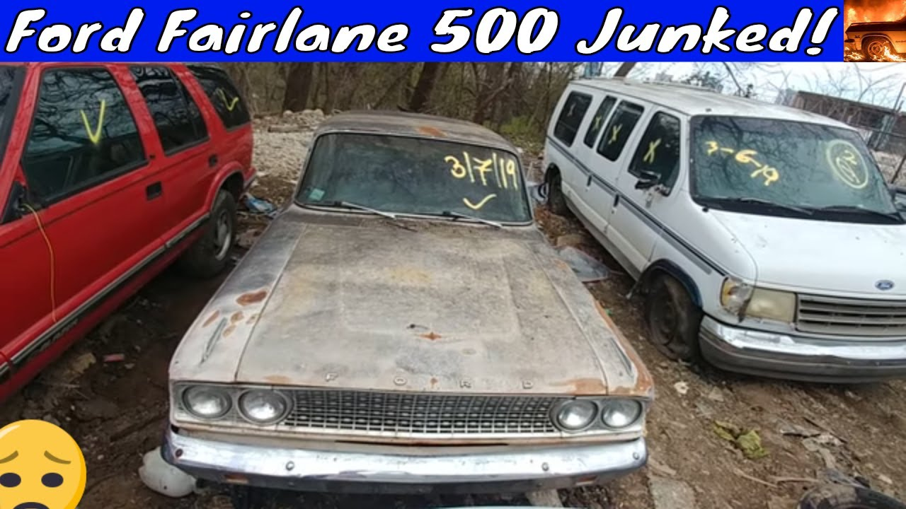 Repeat 1963 Ford Fairlane 500 Junkyard Find by Classic Ride