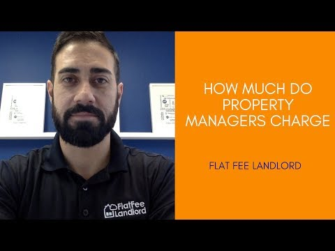How Much Do Property Managers Charge - Fairfax County