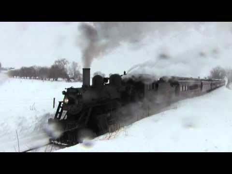 HD Opening Day of the Strasburg Railroad February 15-2014