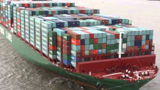 Cscl Globe - China Shipping - The Largest Container Vessel