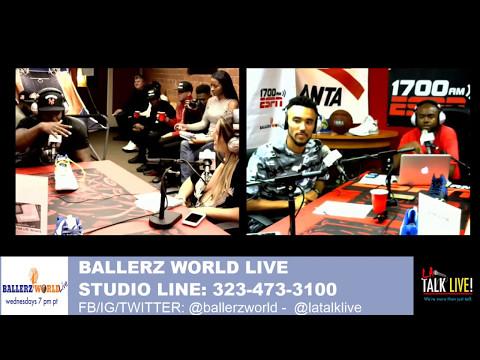 Filmmaker/Actor Moses Verneau on Ballerz World Live 05-10-17