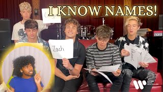 LEARNING Names, Why Don't We Play A Game Of Most Likely To | Reaction!