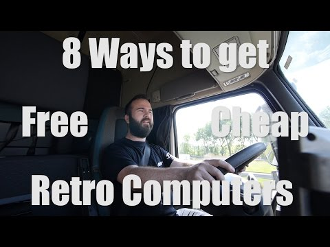 8 Ways to get Free or Cheap Retro Computers/Hardware